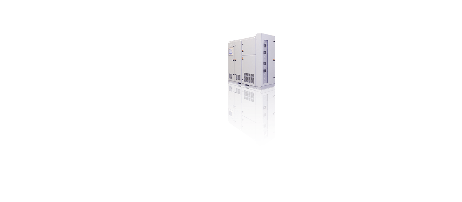 Static Transfer Switch with Power Distribution Unit (PDU), Transformer and Finger Safe Distribution