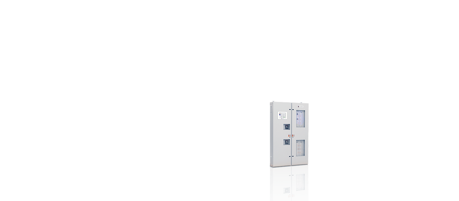 84-Circuit Wall-Mounted Electrical Power Panel